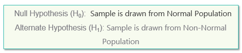 null hypothesis, alternate hypothesis