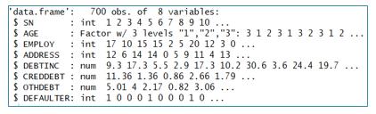 Data Frame Data Check
